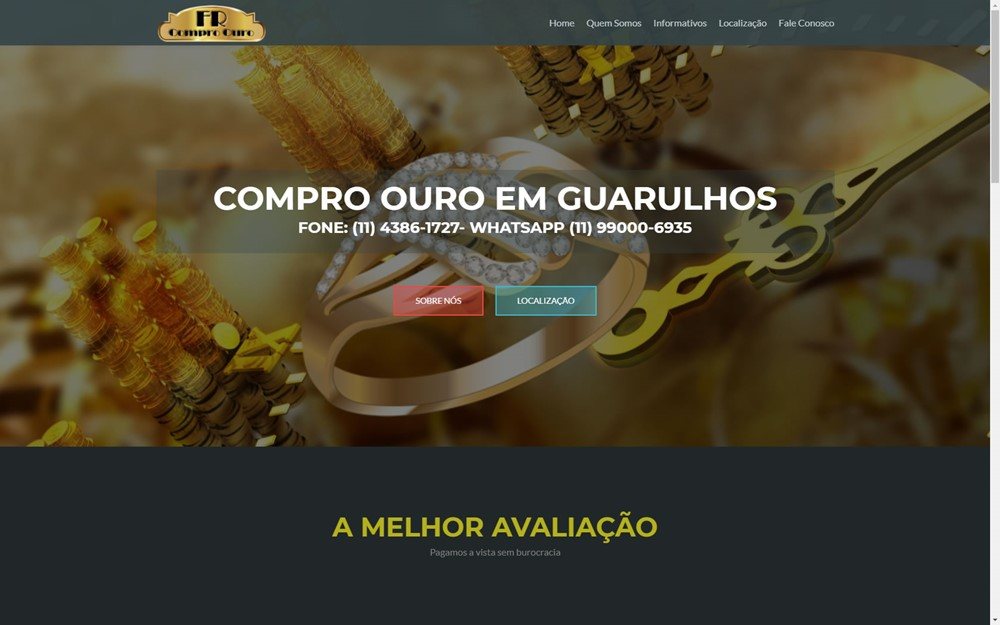 e8b8cb5cf4b Compro Ouro FR – Guarulhos – SB STUDIO – WEBSITES PROFISSIONAIS